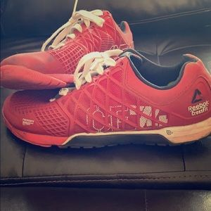 Reebok CrossFit red size 9 men's shoes